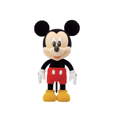 Disney迪士尼 DIY奇妙小鎮 - 米奇絨毛可動公仔