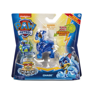 Paw Patrol Mighty Pups Charged Up Figure - Assorted