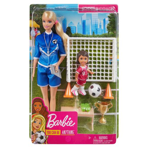 Barbie芭比 足球教練造型組合 - 隨機發貨