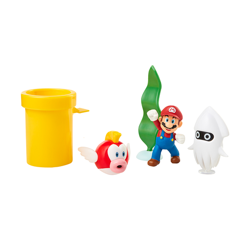 Nintendo任天堂 任天堂2.5吋水底場景角色公仔