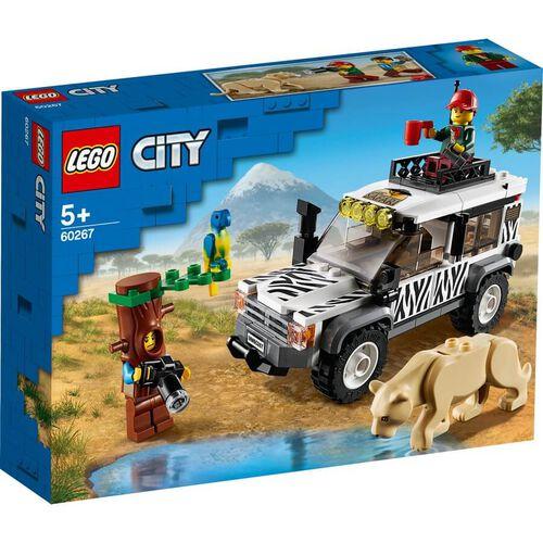 LEGO樂高城市系列 野生動物園越野車 60267