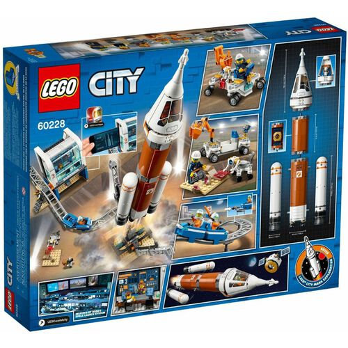 LEGO樂高城市系列 火箭發射指揮中心站 60228