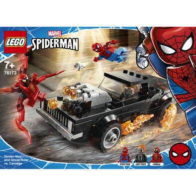 LEGO樂高漫威超級英雄系列 Spider-Man and Ghost Rider vs. Carnage - 76173