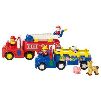 Bru Infant & Preschool 農場車/消防車 隨機發貨
