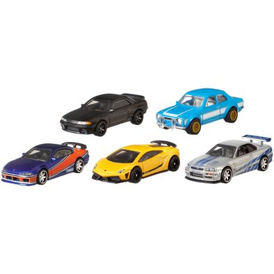 Hot Wheels風火輪fast & Furious合金車系列 - 隨機發貨