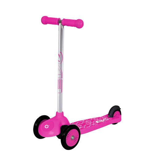 Evo 三輪滑板車 - - 粉紅色