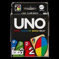Mattel Games美泰兒遊戲 Uno 50週年