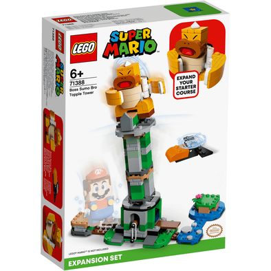 LEGO樂高 Boss Sumo Bro Topple Tower 擴展版圖 71388