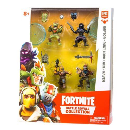 """Fortnite要塞英雄人物收藏系列(W1)-2""""Figure 4件裝 - 隨機發貨"""