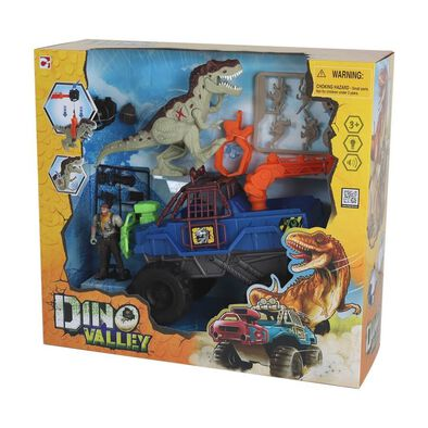 Dino Valley恐龍谷系列之吊臂大轆車套裝