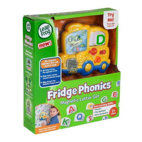 LeapFrog跳跳蛙 冰箱磁石字母巴士套裝