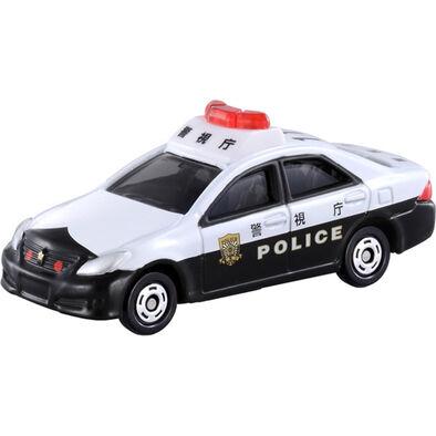 Tomica多美 車仔Bx110 豐田皇冠 巡邏車