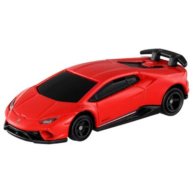 Tomica多美 4D發聲震動藍寶堅尼紅色車仔