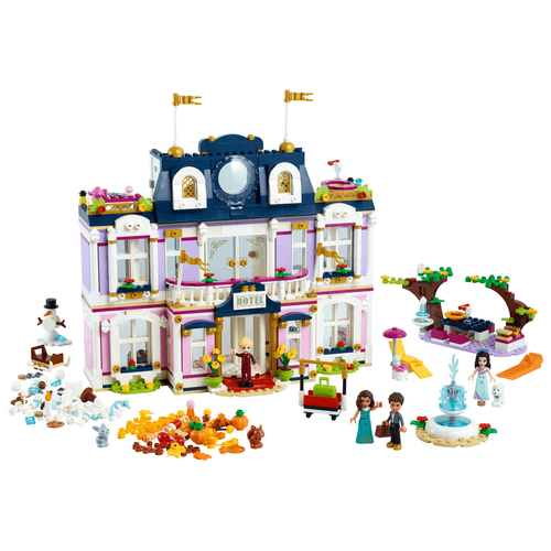 LEGO樂高好朋友系列 心湖城大酒店 41684
