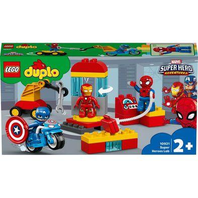 LEGO樂高得寶系列super Heroes Lab 10921