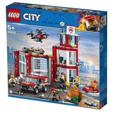 LEGO樂高城市系列 消防局 60215