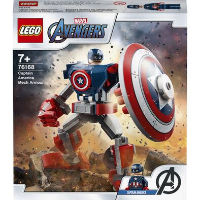 LEGO Marvel Super Heroes Captain America Mech Armor  -  76168