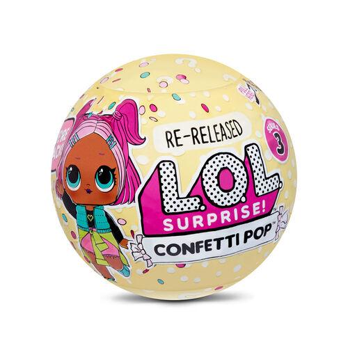 L.O.L. Surprise!驚喜寶貝 七彩花炮系列3粒裝 - 隨機發貨