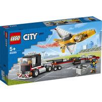 LEGO樂高城市系列 花式噴射機運輸車 - 60289