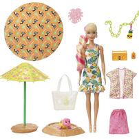Barbie芭比 驚喜造型娃娃泡沫系列 - 菠蘿主題