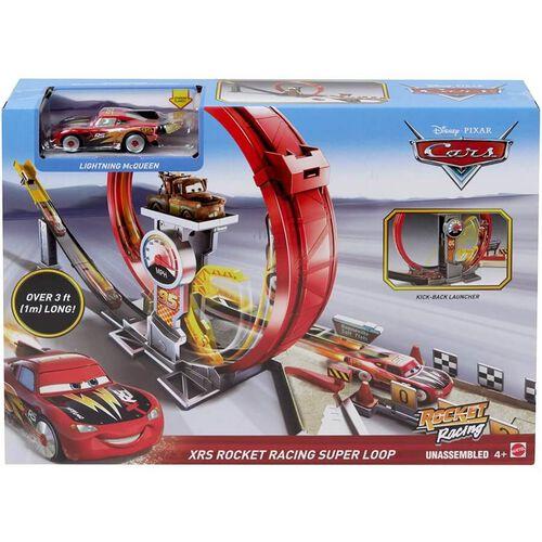 Disney迪士尼 Cars反斗車王極速競賽系列超級迴旋比賽套裝
