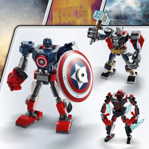 LEGO樂高漫威超級英雄系列 Captain America Mech Armor - 76168
