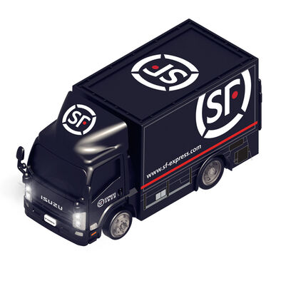 Konsept Mini 1:72 Rc Licensed Isuzu N Series - Sf Express Truck