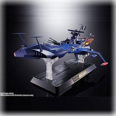 Bandai萬代 [超金金魂] GX-93 《宇宙海賊哈洛克船長》阿魯加迪亞
