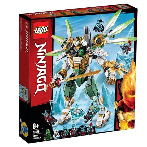 LEGO樂高幻影忍者系列 勞埃德lloyd泰坦機械人 70676