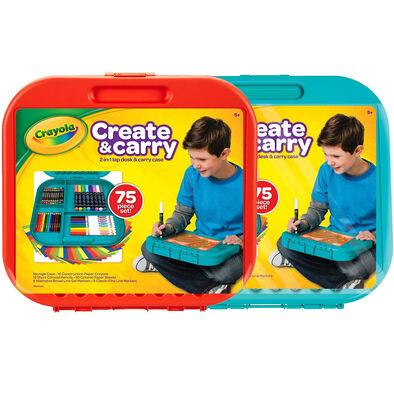 Crayola繪兒樂 創意手提箱-隨機發貨