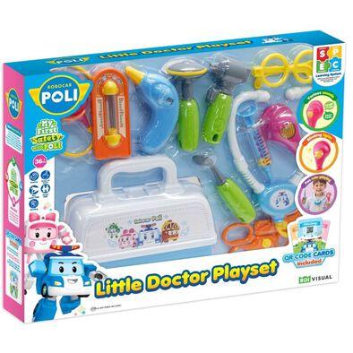 Robocar Poli救援小英雄波力 小醫生玩具套裝